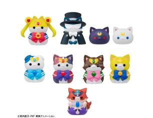 MEGA CAT PROJECT SAILOR MEWN BOX SET MINI FIGURA MEGAHOUSE