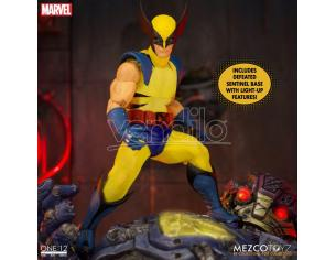 One 12 Coll Wolverine Dlx Steel Box Ed Action Figura Mezco Toys