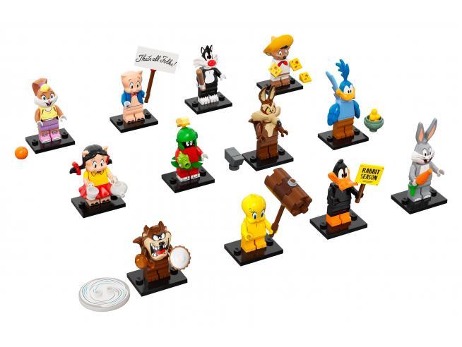 LEGO MINIFIGURES 71030 - MINIFIGURES LOONEY TUNES SERIE COMPLETA 2021