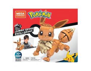 Pokémon Mega Construx Wonder Builders Construction Set Jumbo Eevee 29 Cm Mattel