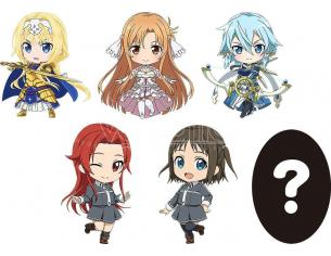 Sword Art Online Alicization Nendoroid Plus Portachiavi 6-pack Vol. 2 6 Cm Good Smile Company