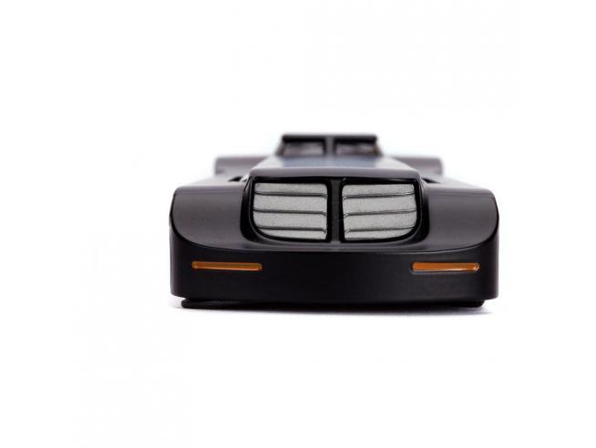 Batman The Animated Series Hollywood Rides Diecast Model 1/32 Batmobile Con Figura Jada Toys