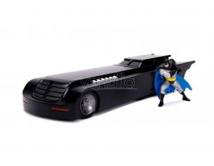 Batman Animated Series Metals Diecast Model 1/24 Batmobile Con Figura Jada Toys