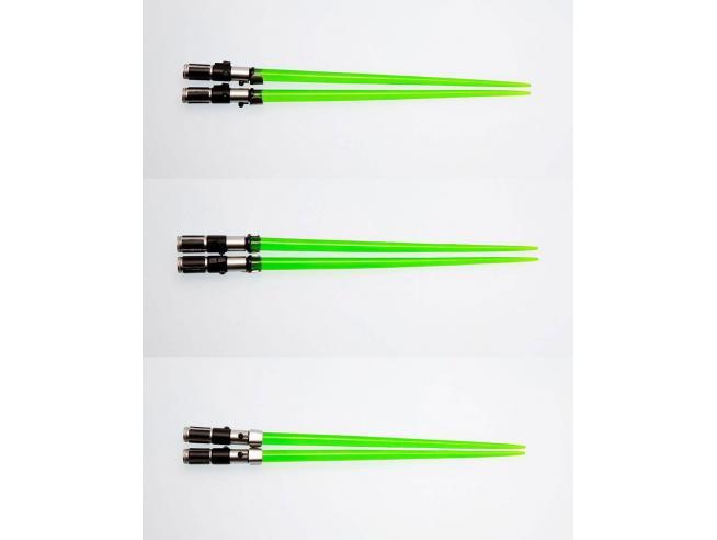 Sat Wars Figura Bacchette Spada Laser Yoda 25 cm Kotobukiya
