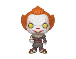 Stephen King's It 2 Super Size Funko Pop Film Vinile Figura Pennywise Con Barca 25 cm