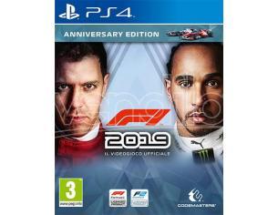F1 2019 ANNIVERSARY EDITION GUIDA/RACING - PLAYSTATION 4