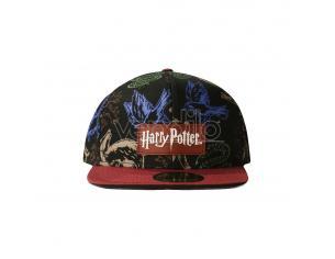 Harry Potter Cappellino Cappellino Snapback Heraldic Animals Difuzed