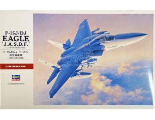 HASEGAWA 07251 F15J DJ EAGLE JASDF 1:48 KIT Modellino