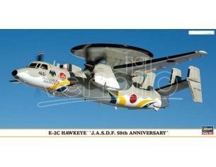 HASEGAWA 00988 E-2C HAWKEYE J.A.S.D.F. 50th ANNIVERSARY 1:72 KIT Modellino