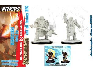 D&d Nolzur Mum Dwarf Male Cleric 3 Miniature E Modellismo Wizbambino