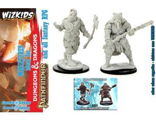 D&d Nolzur Mum Human Male Barbarian 4 Miniature E Modellismo Wizbambino