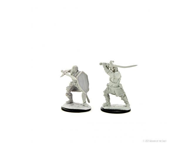 D&d Nolzur Mum Human Male Paladin 4 Miniature E Modellismo Wizbambino