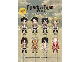 ATTACK ON TITAN KAWAII TITANS DSPL (18) MINI FIGURA TITAN MERCHANDISE