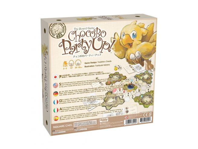 Chocobo Party Up! Gioco Da Tavolo Square-enix