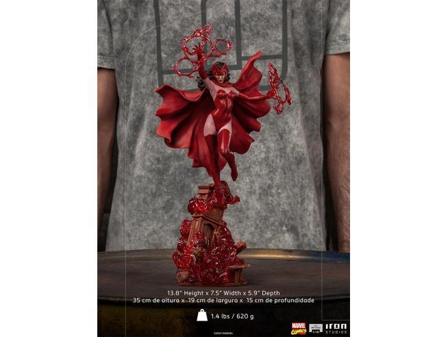 X-men Scarlet Witch 1/10 Art Statua Statua Iron Studio