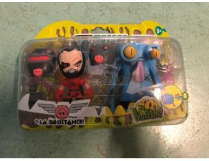 Mutant Busters La resistance Pacchetto 2 figure