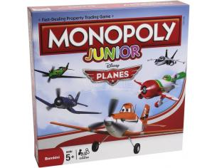 Mac Due The Box 232428 - Monopoly Junior Planes Giochi da Tavolo