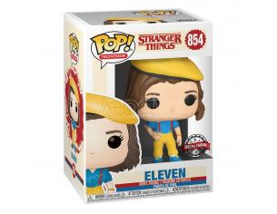 Stranger Things Pop! Tv Vinile Figura Eleven In Yellow Outfit 9 Cm Funko