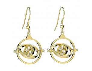 Harry Potter X Swarovski Drop Orecchini Giratempo (gold Plated) Carat Shop, The