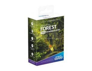 Ultimate Guard Printed Sleeves Standard Size Lands Edition II Forest (100) Ultimate Guard