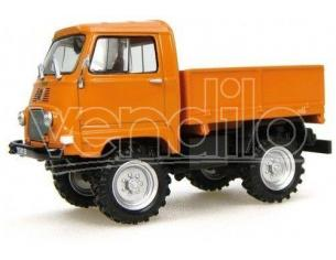 Universal Hobbies UH6055 RENAULT SIMPAR CASTOR 1200D 1965 ORANGE 1:43 Modellino