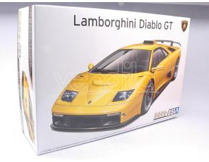 AOSHIMA ABK05899 LAMBORGHINI DIABLO GT  KIT 1:24 Modellino