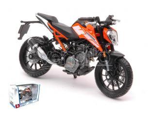 BBURAGO BU51083 KTM 250 DUKE 1:18 Modellino