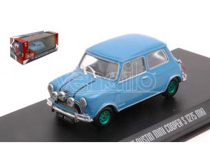 GREENLIGHT GREEN86549GR AUSTIN MINI COOPER S 1275 MKI THE ITALIAN JOB 1969 GREEN WHEELS 1:43 Modellino