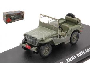 GREENLIGHT GREEN86593 WILLYS MB ARMY BRIGADIER GENERAL 1942 MASH 1972-83 TV SERIES 1:43 Modellino