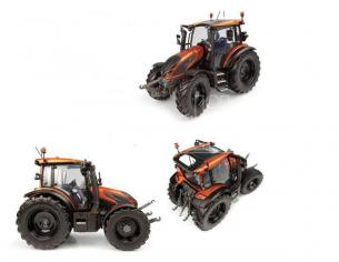UNIVERSAL HOBBIES UH6292 TRATTORE VALTRA G 135 BURNT ORANGE 1:32 Modellino