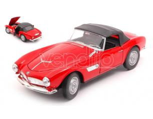 WELLY WE24097HR BMW 507 RED CANOPY CLOSED 1:24 Modellino
