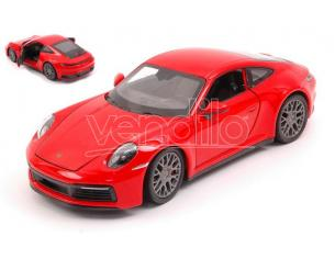 WELLY WE24099WR PORSCHE 911 CARRERA 4S RED 1:24 Modellino