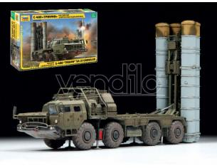 ZVEZDA Z5068 RUSSIAN LAUNCH VEHICLE A-400 TRIUMF MISSILE SYSTEM KIT 1:72 Modellino