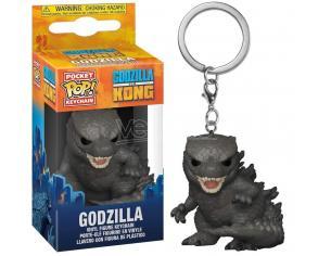 Godzilla Vs Kong Portachiavi Funko POP Film Vinile Figura Godzilla 4 cm