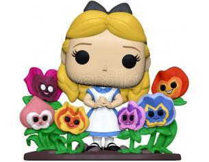Alice nel Paese delle Meraviglie 70th Anniversario Disney Funko POP Vinile Figura Alice con Fiori 9 cm