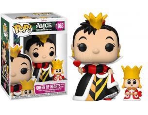 Alice nel Paese delle Meraviglie 70th Anniversario Disney Funko POP Vinile Figura Regina con Re 9 cm