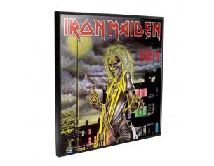 Iron Maiden Cristallo Clear Picture Killers 32 X 32 Cm Nemesis Now