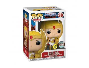 Masters Of The Universe Funko Pop Vinile Figura Serie Speciale She-ra (si illumina al buio) 9 Cm