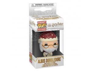 Harry Potter Pocket Pop! Vinile Portachiavis 4 Cm Holiday Albus Silente Display (12) Funko