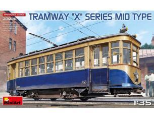 MINIART MIN38026 TRAMWAY X-SERIES MID TYPE  KIT 1:35 Modellino