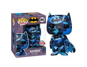 Dc Comics Funko Pop Vinile Figura Batman Serie 4 Artisti + Custodia 9 cm Esclusiva