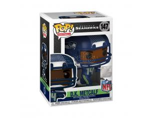 Nfl Funko Pop Vinile Figura D.k. Metcalf (seattle Seahawks) 9 Cm