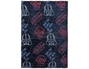 Star Wars Coperta Pile Flanella Colore Nero 120 X160 Cm Cerdà