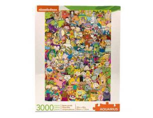 Nickelodeon Jigsaw Puzzle Cast (3000 Pieces) Aquarius