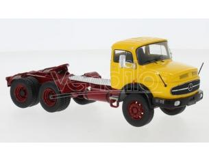 IXO MODEL TR087 MERCEDES LK 2624 1979 YELLOW 1:43 Modellino