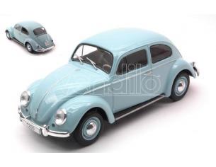WHITEBOX WB124055 VW BEETLE LIGHT BLUE 1:24 Modellino