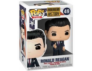 Icone della Storia Americana Funko Pop Vinile Figura Ronald Reagan 9 Cm