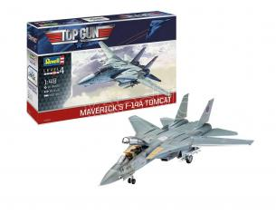 Top Gun Model Kit 1/48 Maverick´s F-14A Tomcat 40 Cm Revell