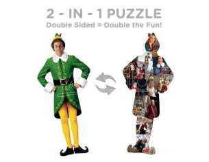 Elf Shaped Jigsaw Puzzle Elf (600 Pieces) Aquarius