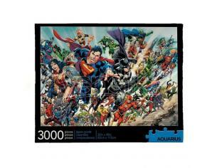 DC Comics Jigsaw Puzzle Cast (3000 Pieces) Aquarius